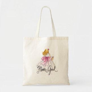 Blumen-Mädchen TASCHE