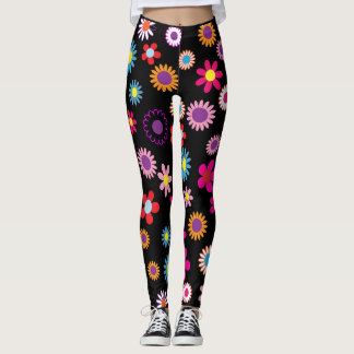 Blumen Margaritas bunt Leggings