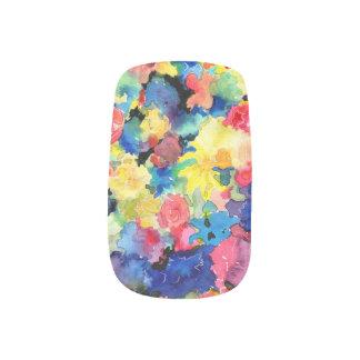 Blumen-Marktabstrakte Minx Nagelkunst