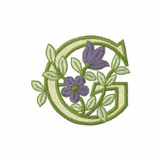 Blumen-Monogramm-Initiale G