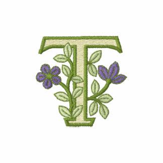 Blumen-Monogramm-Initiale T