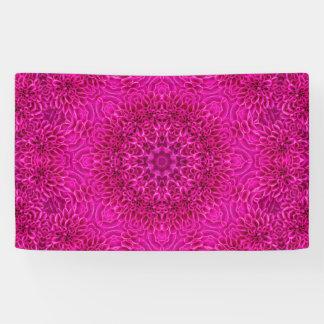 Blumen-Muster-Fahnen, 4 Größen Banner