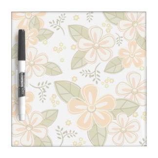 Blumen-Muster Trockenlöschtafel