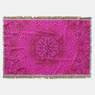 Blumen-Musterthrow-Decke Decke