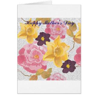 """Blumen""""Muttertages"""" Karte"""