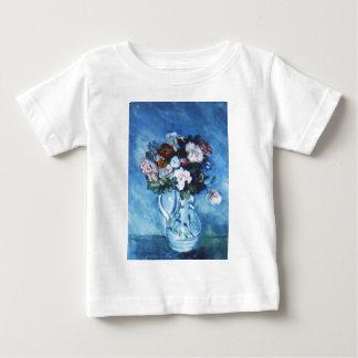 Blumen nach Renoir durch Helene Baby T-shirt