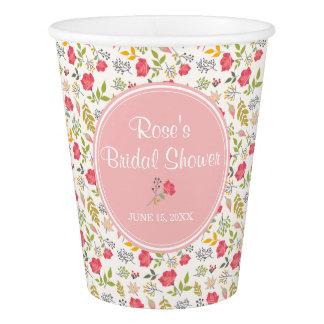 Blumen| Papierschalen der Rosen- Pappbecher
