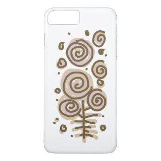 Blumen Pastelliphone Kasten iPhone 8 Plus/7 Plus Hülle