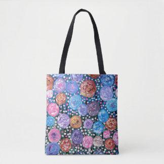 Blumen-Pop Tasche