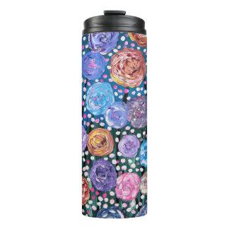 Blumen-Pop Thermosbecher
