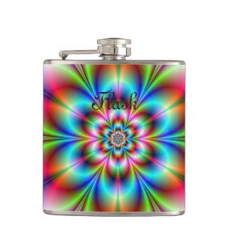 Blumen-Power-Flasche Flachmann