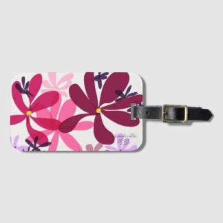 Blumen-Power LuggageTags Gepäckanhänger