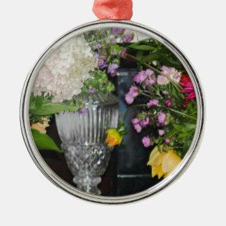 Blumen PSX_20161220_203716 Silbernes Ornament