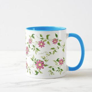 Blumen-Rebe-Tasse Tasse