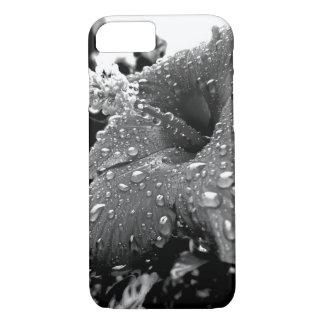 Blumen-Regen-Tropfen-Telefon-Kasten iPhone 8/7 Hülle