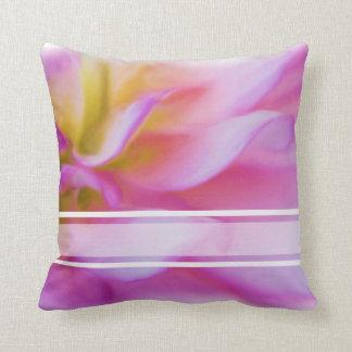 Blumen-rosa Dahlie Kissen