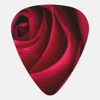 Blumen-Rote Rose Plektrum