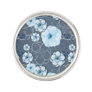 Blumen-rundes Revers-Button Anstecknadel