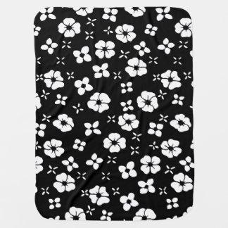 Blumen-Schwarzes Puckdecke
