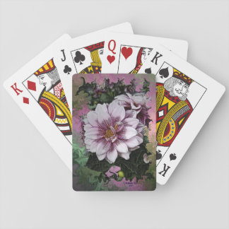 Blumen-Spielkarten durch kunstvolle Oase Spielkarten