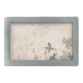 Blumen-Studie 2 - YUNBing (chinesisch) Rechteckige Gürtelschnallen