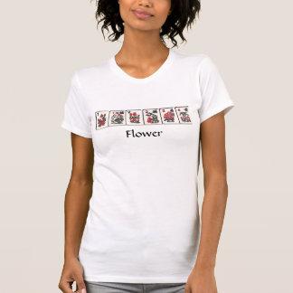 Blumen-T-Shirt Milliamperestunde Jongg T-Shirt