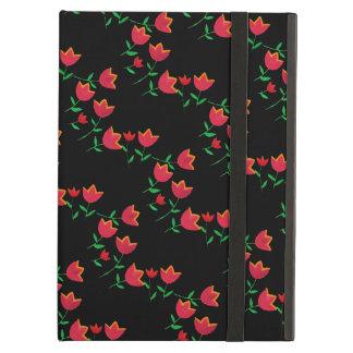 Blumen-themenorientierte rote Tulpen