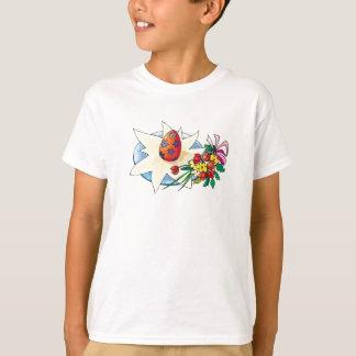 Blumen u. das Ei - T-Shirt