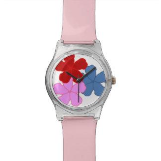 Blumen-Uhr Uhr