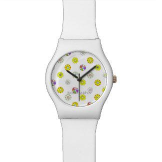 Blumen Uhr