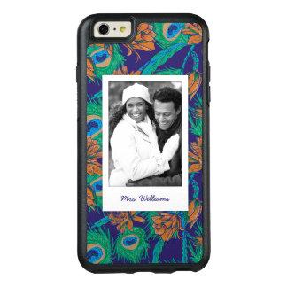 Blumen und Federn | addieren Ihr Foto u. nennen OtterBox iPhone 6/6s Plus Hülle