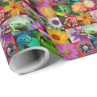 Blumen-und Geschöpf-Verpackungs-Papier Einpackpapier