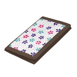 Blumen und Punkt-Muster