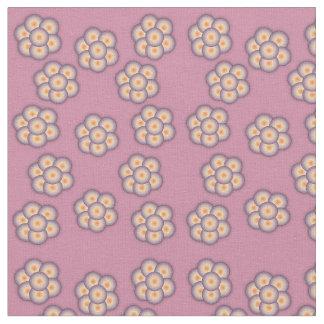Blumen- und Sternchen-Vereinbarung Gewebe Stoff