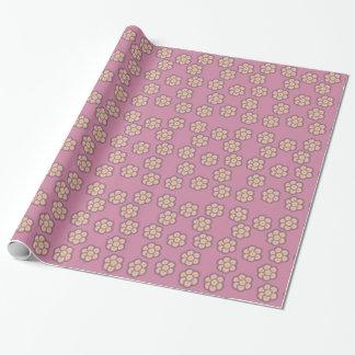 Blumen- und Sternchen-Vereinbarung Packpapier Einpackpapier