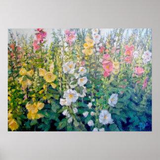 Blumen vom Katalog Poster