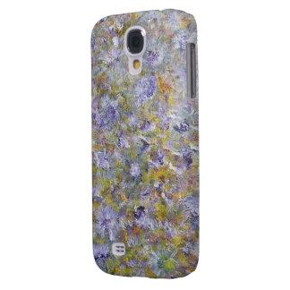 Blumen von Sring Galaxy S4 Hülle