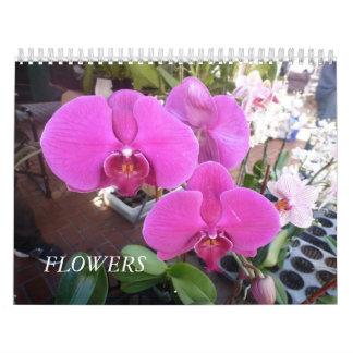 Blumen Wandkalender