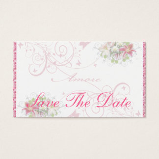 BlumenAmore - Save the Date Karte