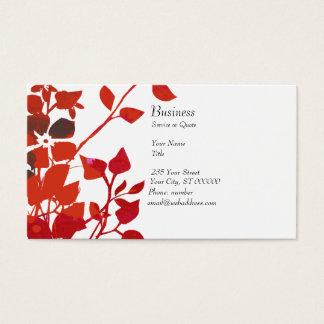 Blumenaqua-Medien des Aquarell-  modern Visitenkarte