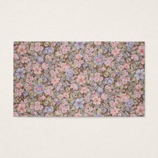 Blumenbeschaffenheiten der schönen Blumen Visitenkarte