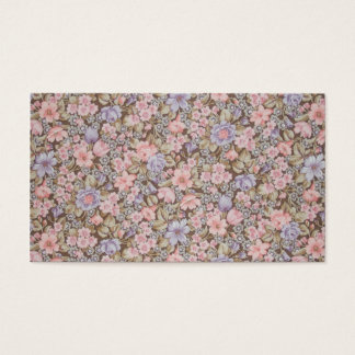 Blumenbeschaffenheiten der schönen Blumen Visitenkarten