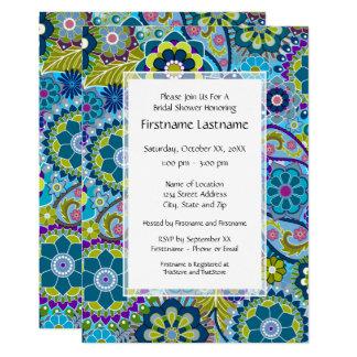 BlumenBrautparty-oder Verlobungs-Party 12,7 X 17,8 Cm Einladungskarte