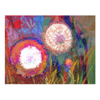 Blumendigital, die Postkarte zeichnen