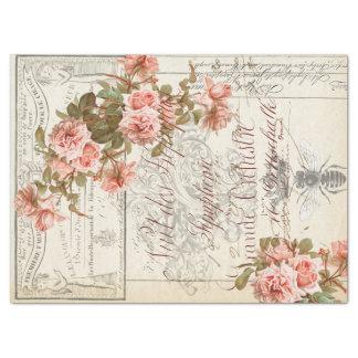 Blumeneintagsfliegen Decoupage Gewebe Seidenpapier