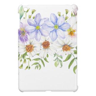 Blumenfeld-Blumenstrauß iPad Mini Hülle