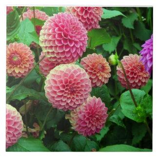 Blumenfliese Große Quadratische Fliese