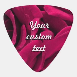 BlumenFoto der pinkfarbenen rosa Samt-Rosen Plektrum