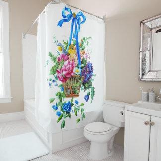 Blumengesteck Aquarell-Duschvorhang Duschvorhang