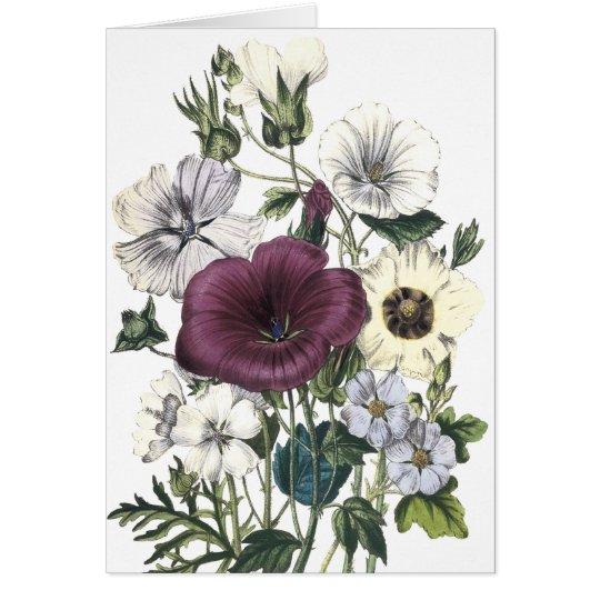 Blumenglückwunsch-Karte Grußkarte
